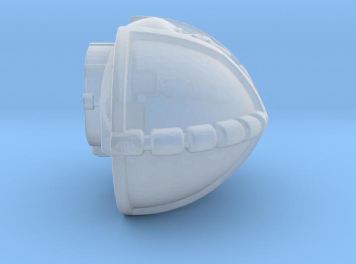 Armored Torso 3d printed