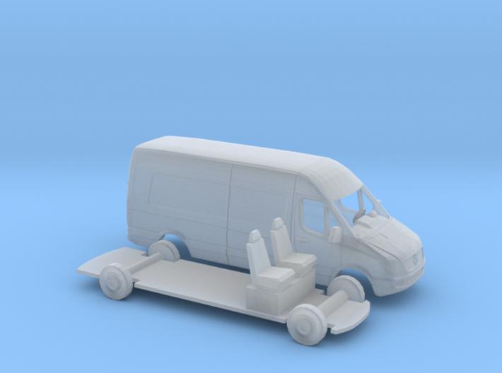 1/120 Mercedes Sprinter 3d printed
