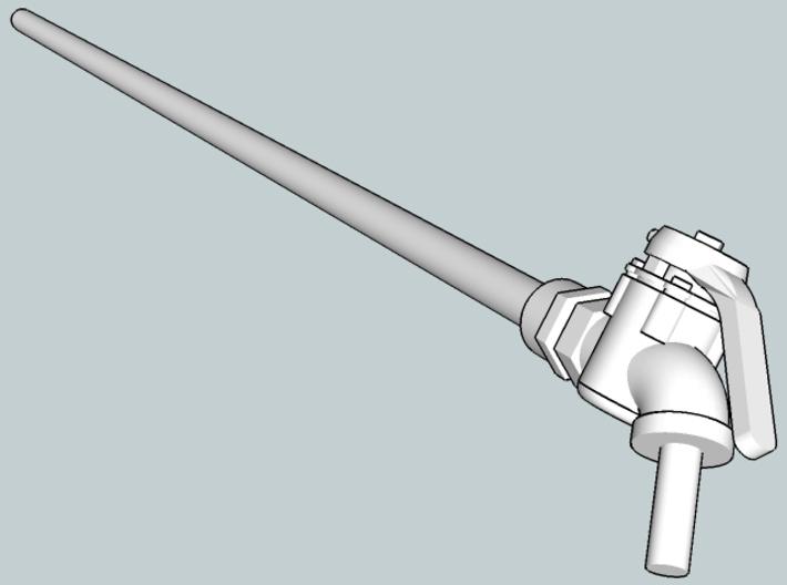 1:29 Air hose assembly 3d printed
