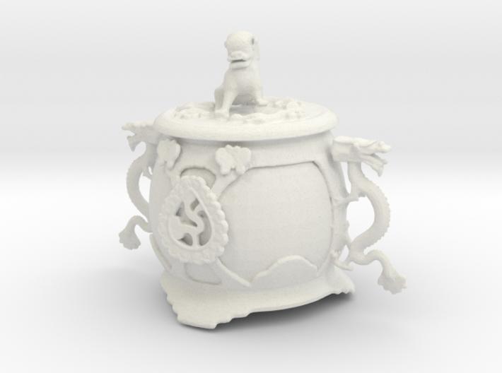 Printle Chinese Funerary Urn 3d printed