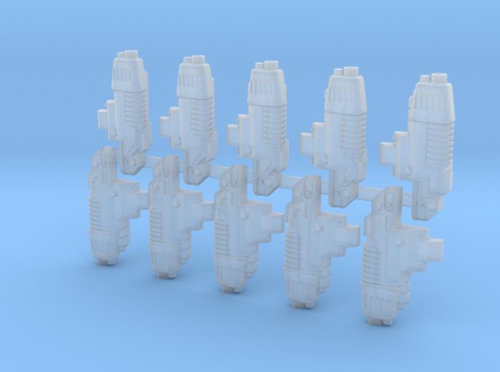 10x Combi-Plaz: Prospero Terminator Bit 3d printed