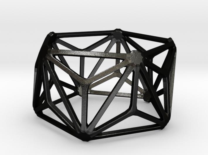 Catalan Bracelet - Triakis Icosahedron 3d printed