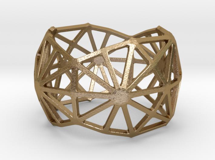 Catalan Bracelet - Disdyakis Triacontahedron 3d printed