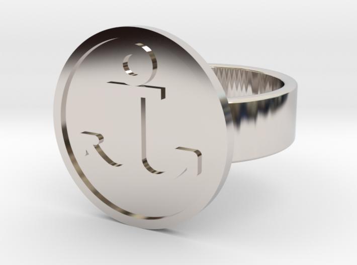 Anchor Ring 3d printed