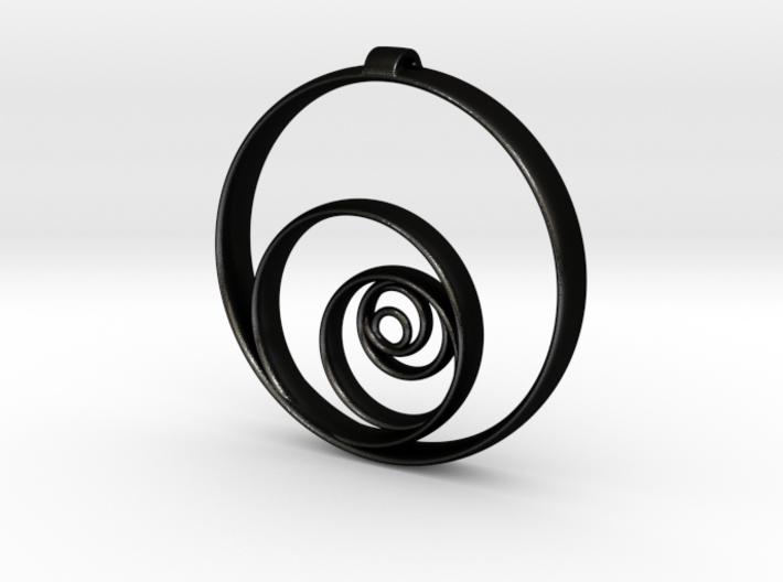 Aurea_Pendant 3d printed