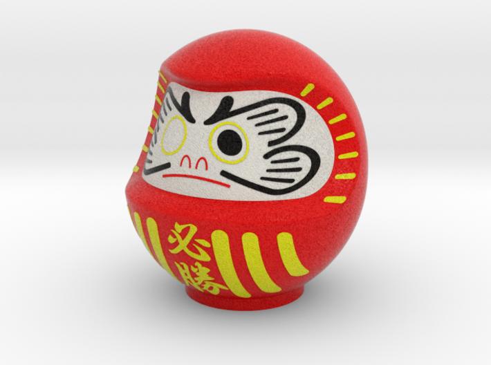 DARUMA(Red hissyou) 3d printed