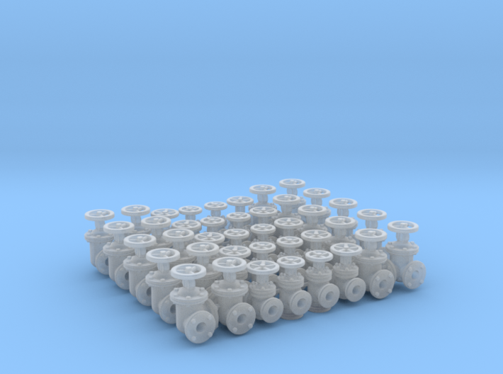 """40 Valves (various designs) For 1.6mm (1/16"""") Rod 3d printed"""