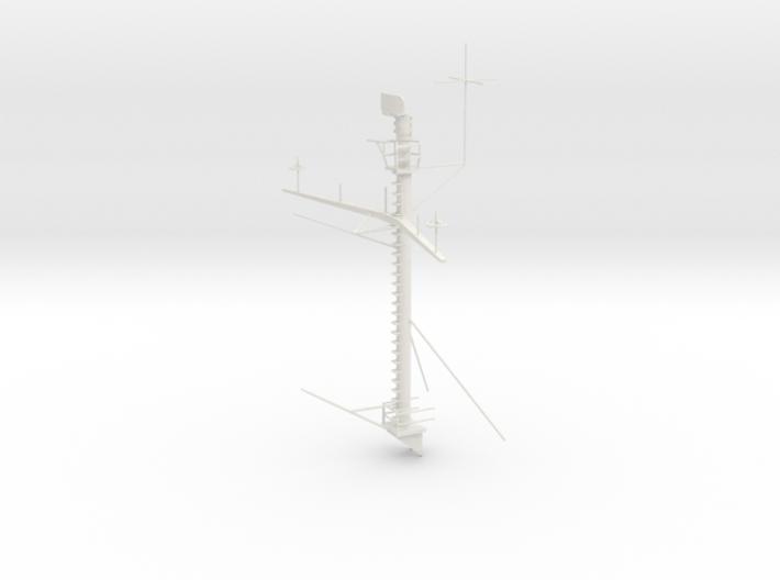 1/72 USN IOWA Class Main Mast 3d printed