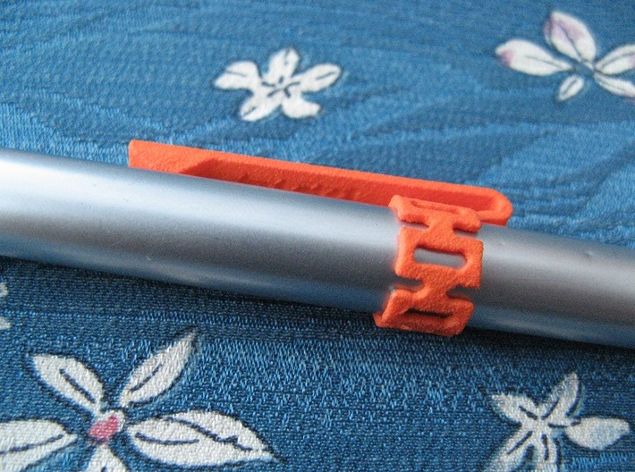 Pen Clip: for 10.0mm Diameter Body 3d printed (pen not included)