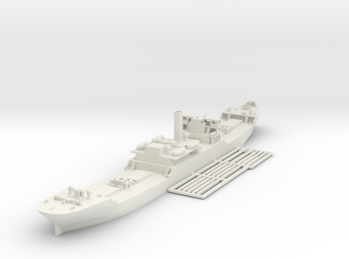 EFC 1013 WW1 freighter Various Scales 3d printed