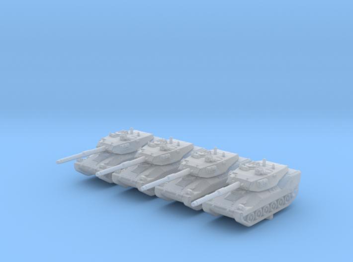 1/285 (6mm) British VFM Mk.5 Light Tank x4 3d printed 1/285 (6mm) British VFM Mk.5 Light Tank x4