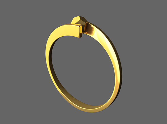 Game Changer Ring 3d printed