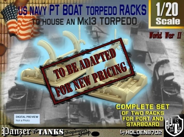 1-20 PT Torpedo Rack TypA 3d printed