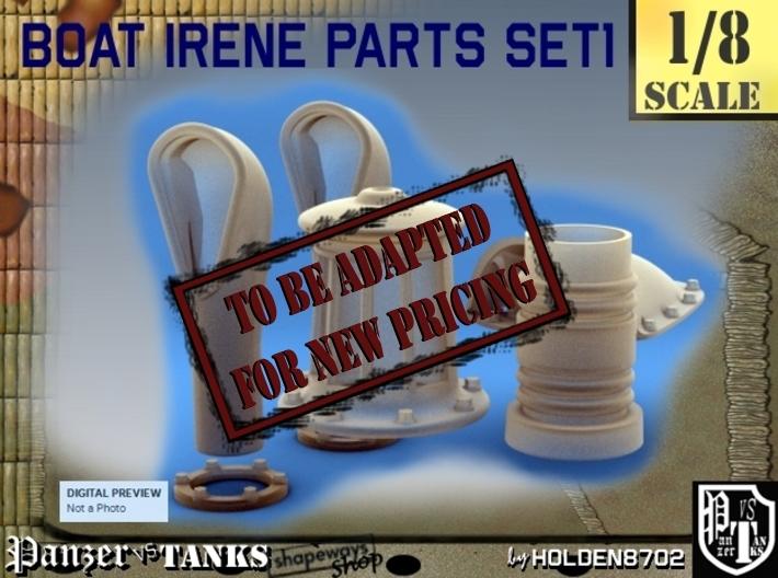 1-8 Boat Irene Parts Set1 3d printed