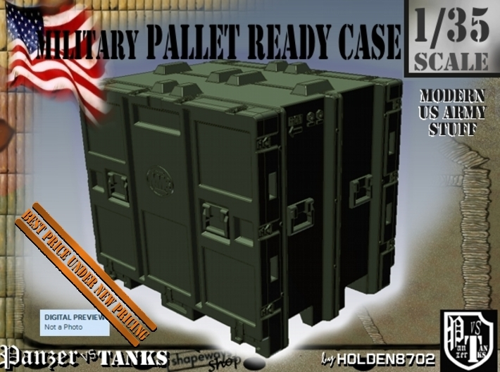 1-35 MM08 Pallet Ready Case 3d printed