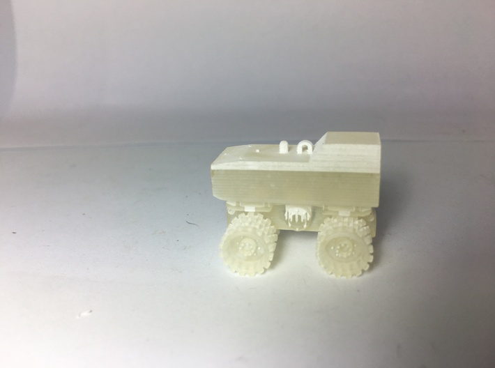 1:50 Trench compactor  3d printed 1/50 roller