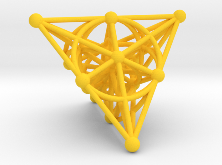 Projective Space 3d printed