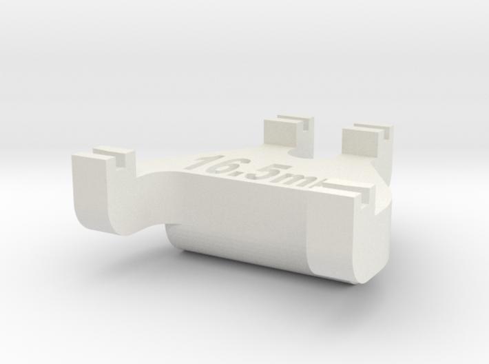 HO Track Gauge - Code 83 3d printed