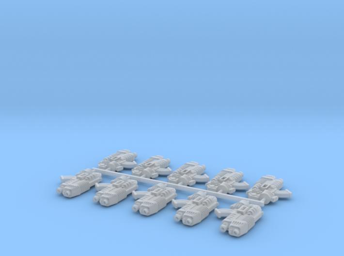 10x Plasfire-BC1 3d printed