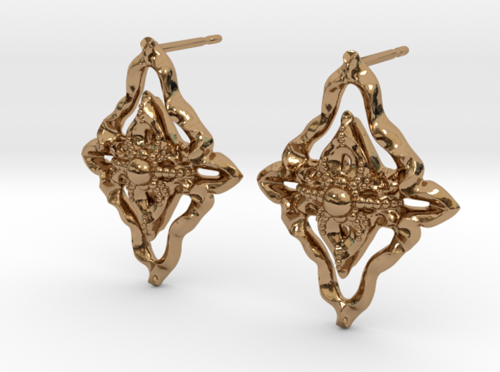 The Elisabeth Earring 3d printed