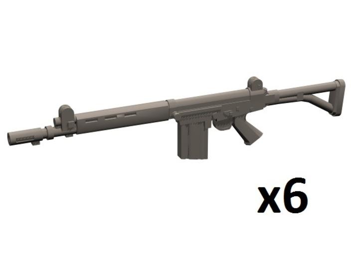 1/35 FN FAL Para 3d printed