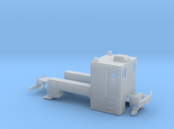 MOW Truck 1-87 HO Scale (Stationary) 3d printed