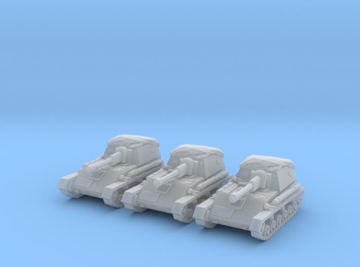 1/160 SU-76M spg 3d printed
