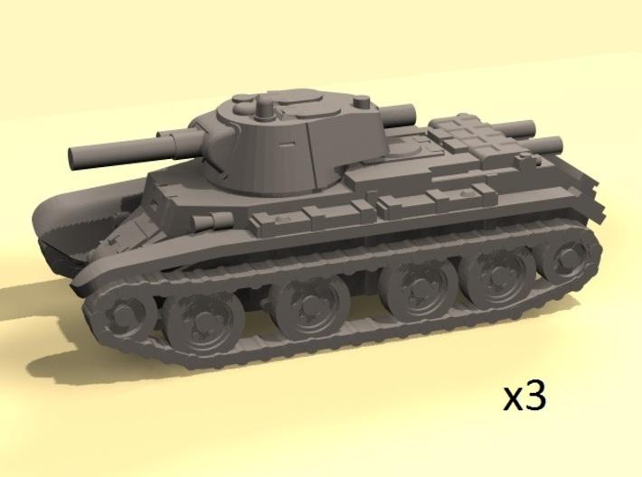 1/160 BT-7 tanks 3d printed