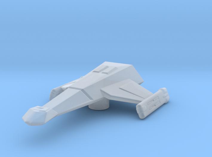 Klingon K23 (Little Killer) 1/7000 Attack Wing 3d printed