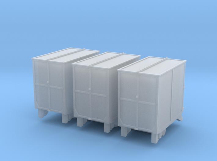 3 Kleinbehälter Bd (N 1:160) 3d printed