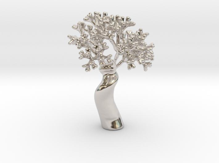 A fractal tree 3d printed