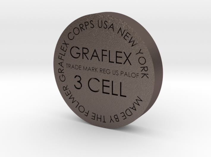 Graflex bottom 34mm 3d printed