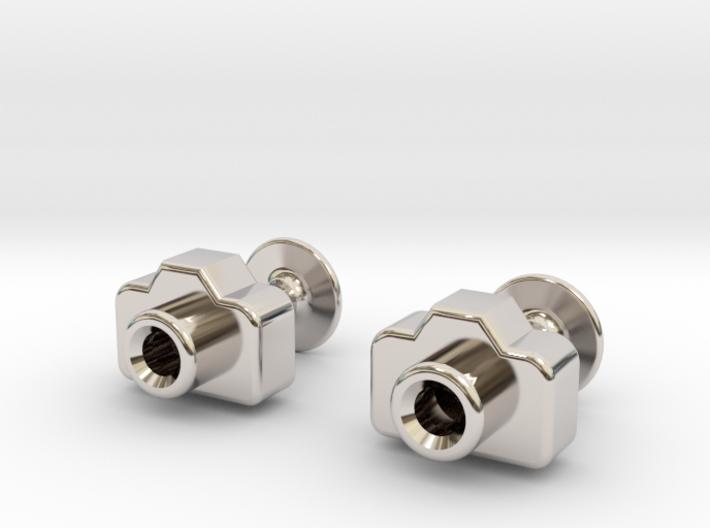 Mini DSLR Camera - Cufflinks 3d printed