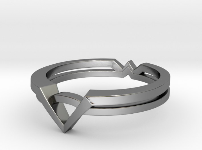 Wonder Woman Theme Ring Size from US 5 to US 11 3d printed Wonder Woman Theme Ring