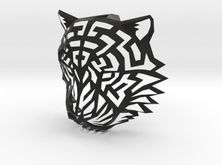 Modern Faux Taxidermy - Tiger Head (L) 3d printed