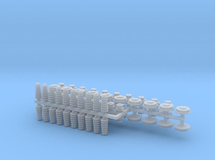 1:48 Utility Pole Insulators/Bushings V3 3d printed
