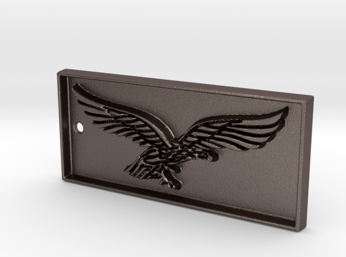 Pilot eagle airforce keychain 3d printed