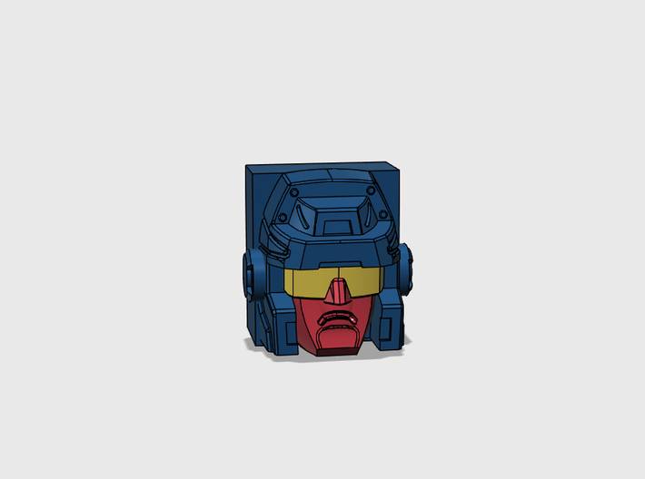 Trigger Happy G1 Face 3d printed
