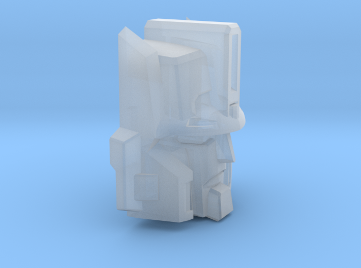 Cannon Master's Face 3d printed