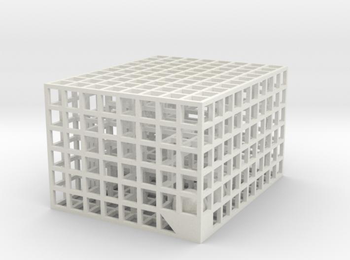 Maze 08, 5x4x3 3d printed