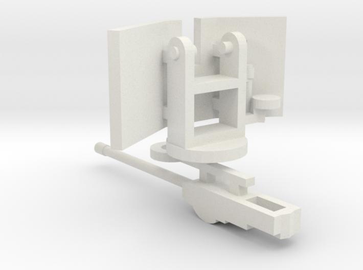 1/144 5 cm KWK gun for bunkers 3d printed
