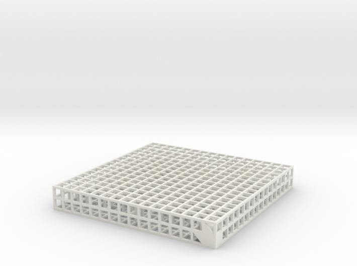 Maze 10, 8x8x1 3d printed