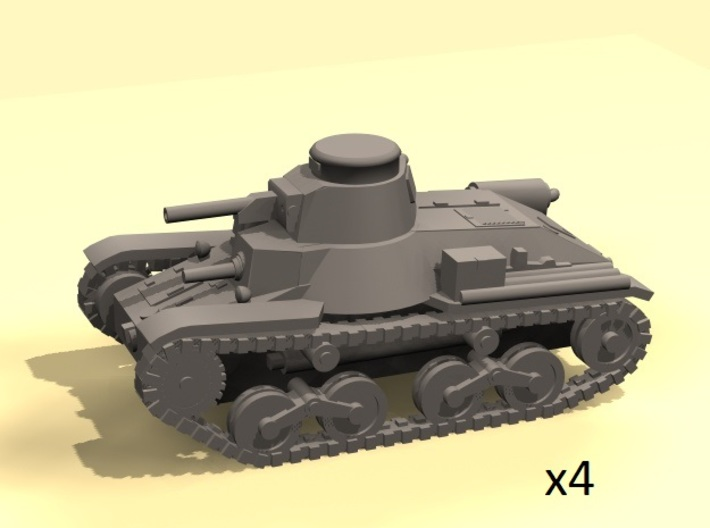 1/160 Ha-Go Type-95 tank 3d printed