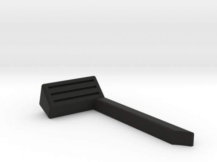 LEFT SIDE/ 1:35 SCALE ORLANDO JEEP SNORKEL 3d printed