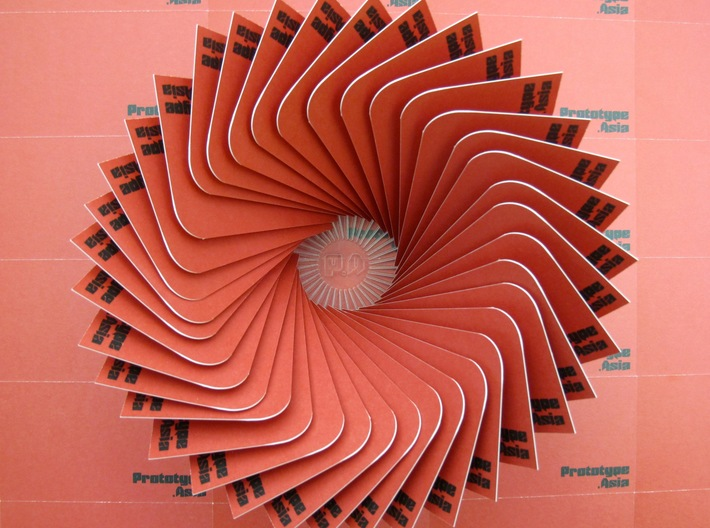 Cardrousel (.78mm cards) : A decorative card holde 3d printed