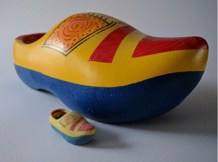 Just a Wooden Shoe 3d printed Wooden shoe - mini