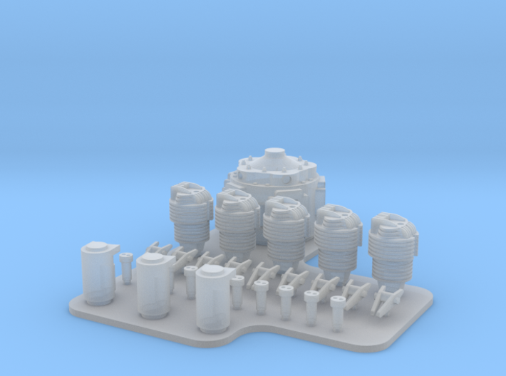 NKL-16 ENGINE V01 FOR PRINT 3d printed