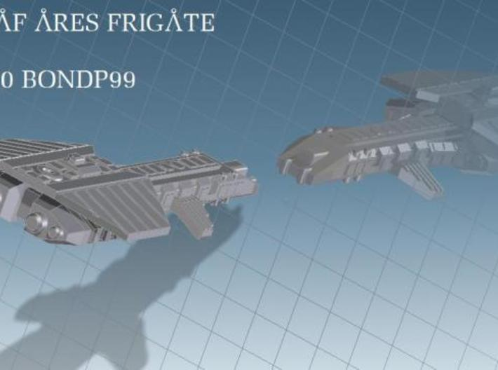 Ares Frigate 3d printed render view 2