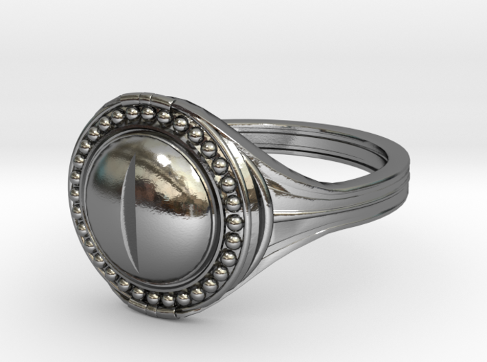 Ring of the Evil Eye 3d printed