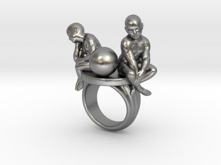 Melancholia ring 3d printed